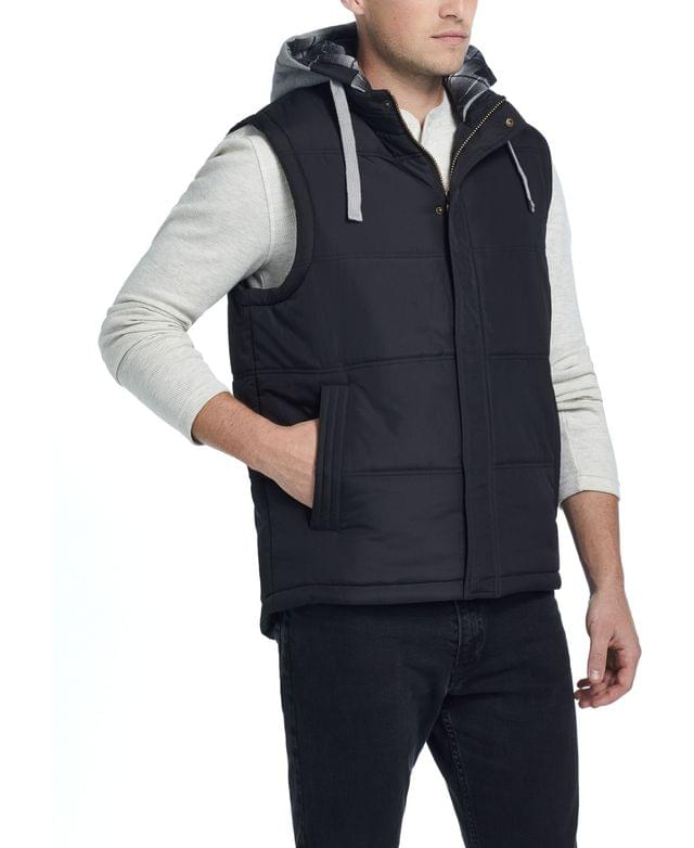 Men's Men's Hooded Puffer Vest