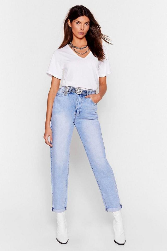 WOMEN Mother Knows Best High-Waisted Mom Jeans