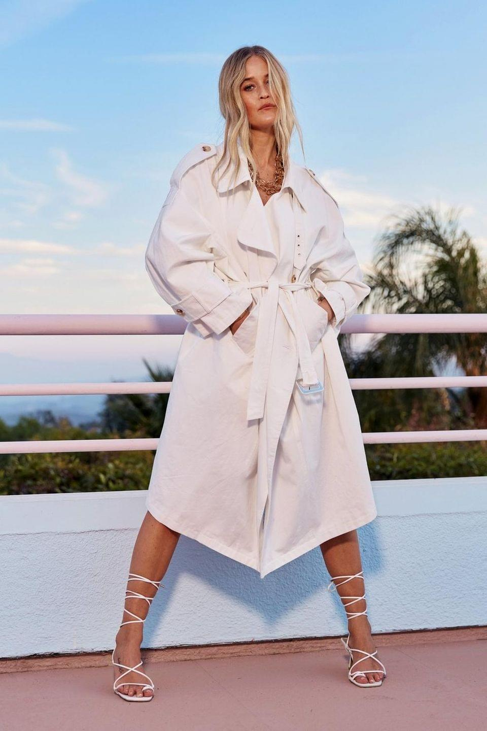 Women's Don't Sugar Coat It Belted Trench Coat