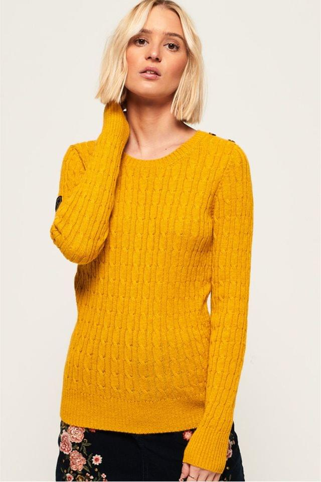 WOMEN Superdry Croyde Cable Knit Jumper