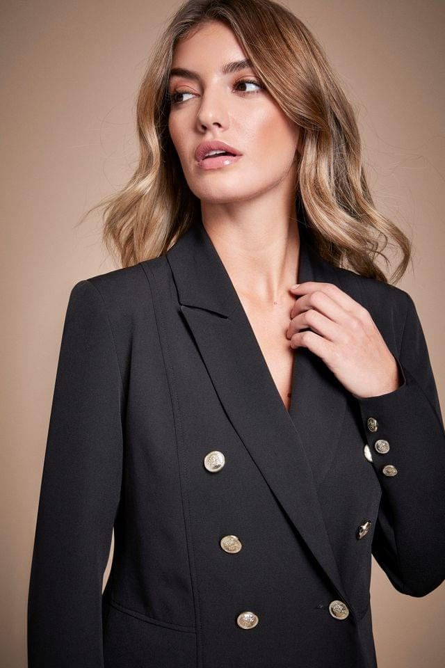 WOMEN Lipsy Double Breasted Military Jacket