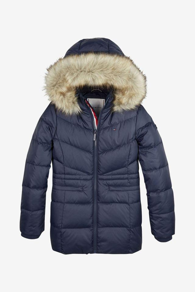 KIDS Tommy Hilfiger Blue Essential Down Coat