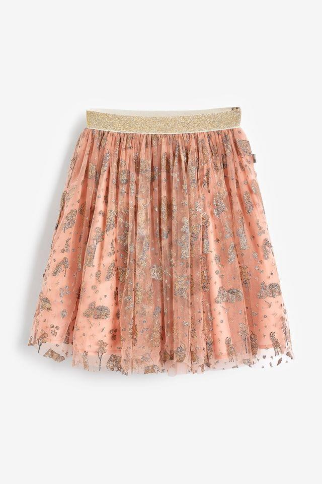 KIDS Wheat Pink Snow White Tulle Skirt