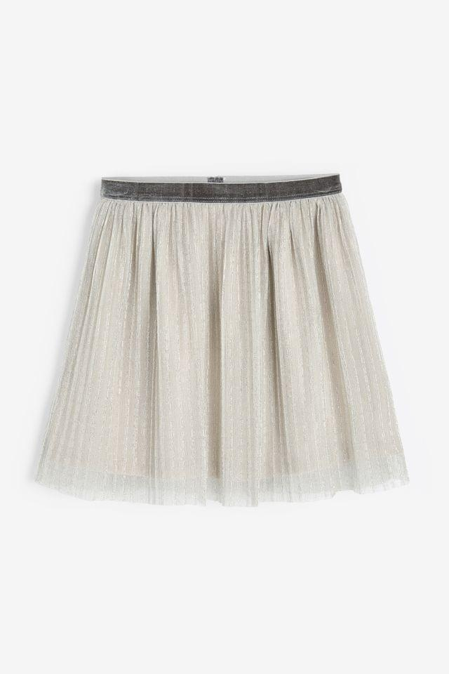 KIDS Silver Skirt (3-16yrs)