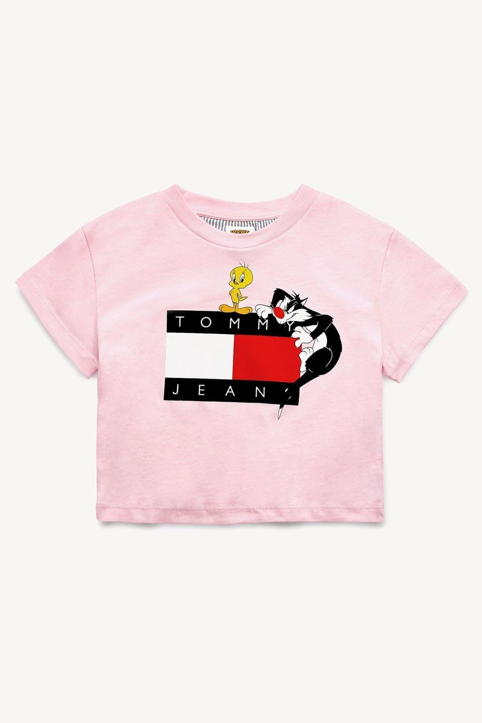 Girl's Tommy Hilfiger Looney Tunes Boxy T-Shirt