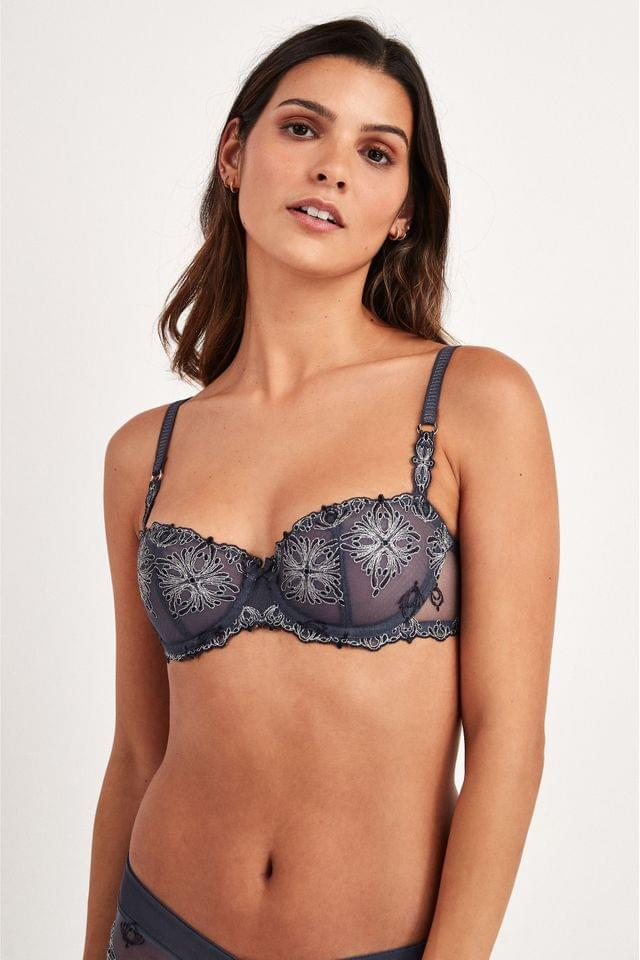 WOMEN Chantelle Cashmere Grey Champs- lys es Balconette Bra