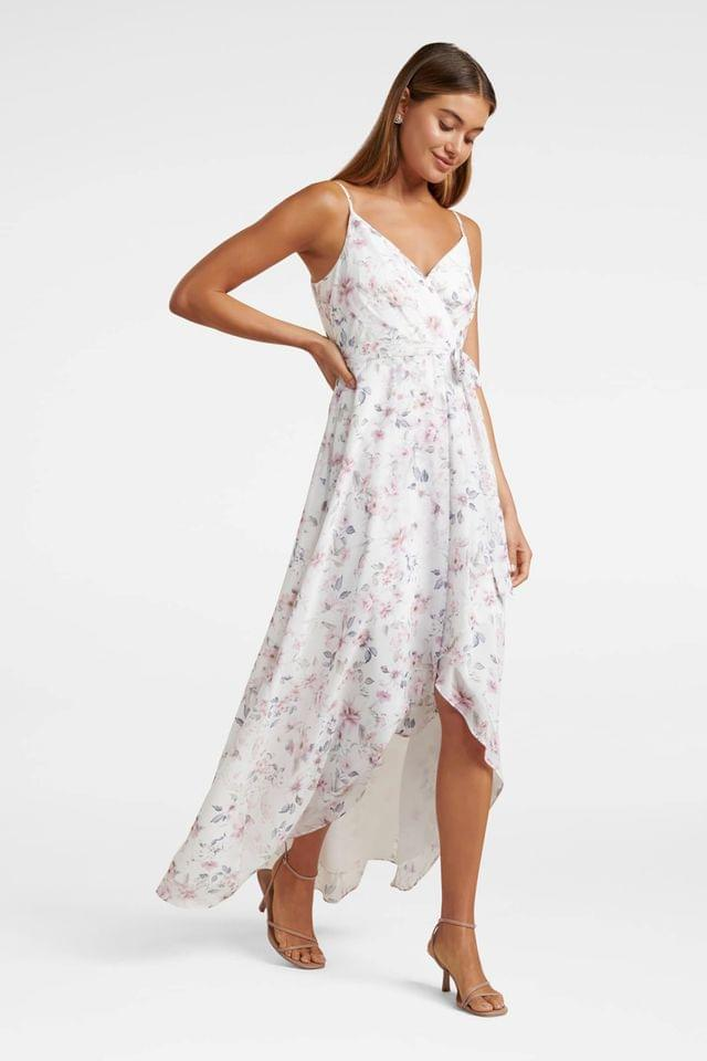 WOMEN Forever New Cami Wrap Floral Maxi Dress