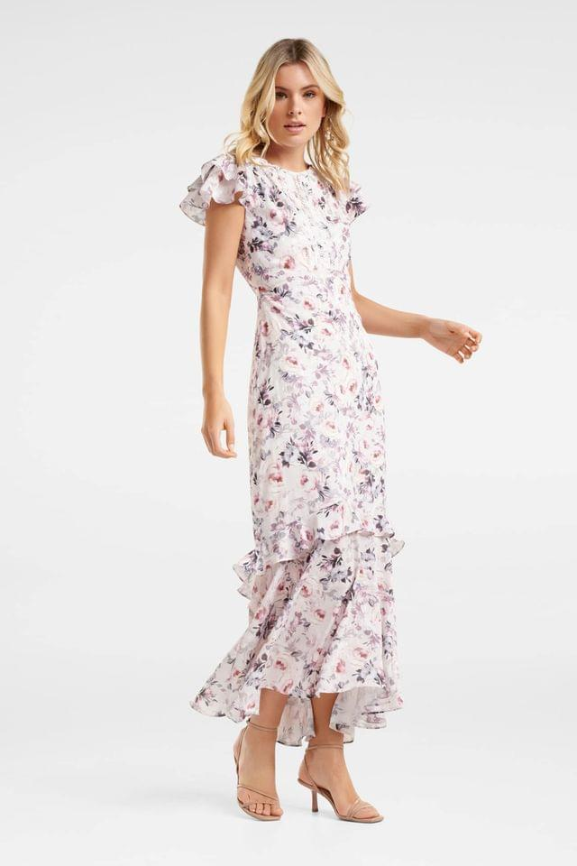 WOMEN Forever New Petite Amie Floral Maxi Dress