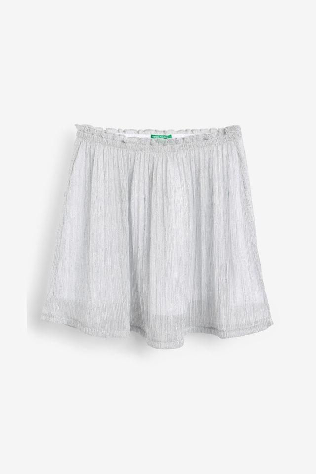KIDS Benetton Silver Skirt