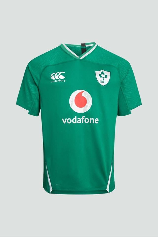 KIDS Canterbury Ireland Home 19/20 Rugby Junior Jersey
