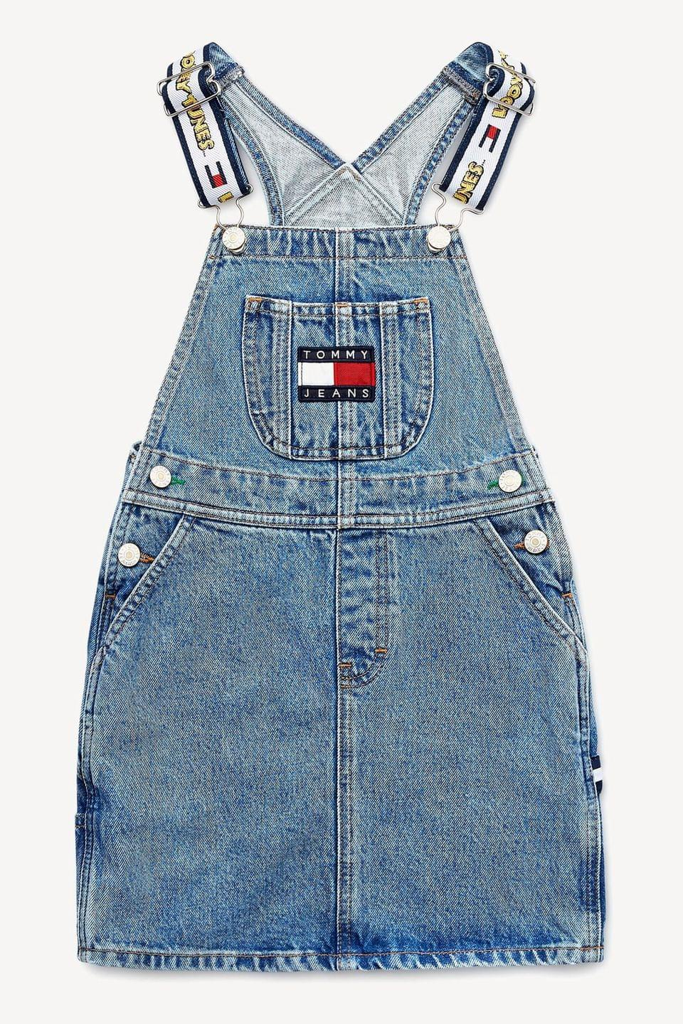 Girl's Tommy Hilfiger Looney Tunes Dungaree Dress