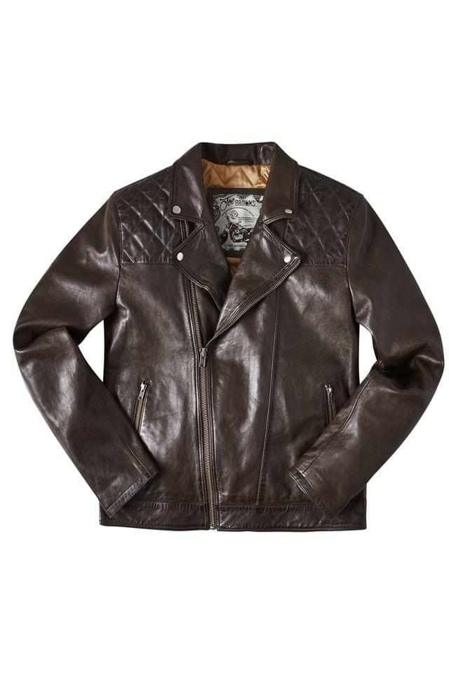 MEN Joe Browns Leather Jacket