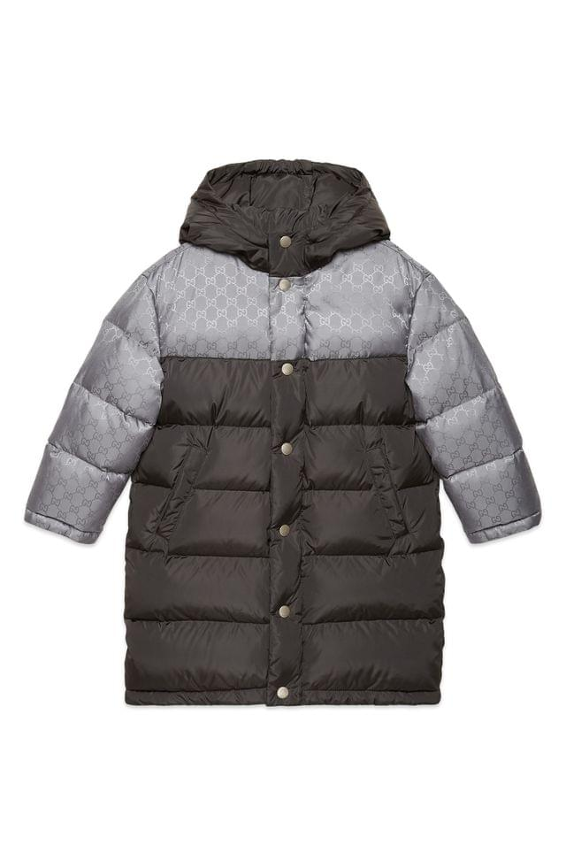 KIDS Gucci Quilted Nylon Jacket (Little Boys & Big Boys)