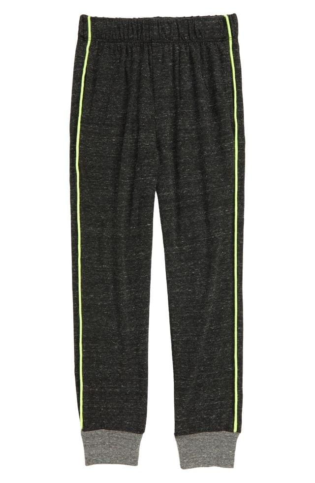 Boy's Joah Love Pipe Trim Jogger Pants (Toddler, Little Boy & Big Boy)