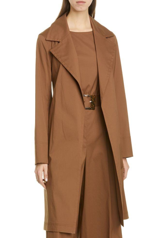WOMEN Lafayette 148 New York Mayfair Belted Trench Coat