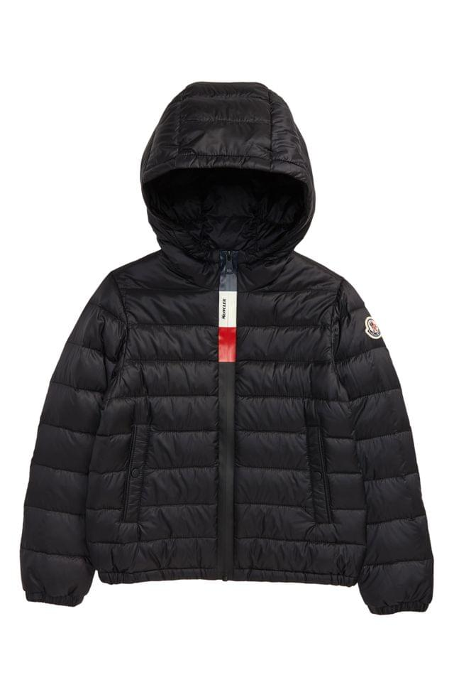 KIDS Moncler Quilted Down Jacket (Little Boys & Big Boys)