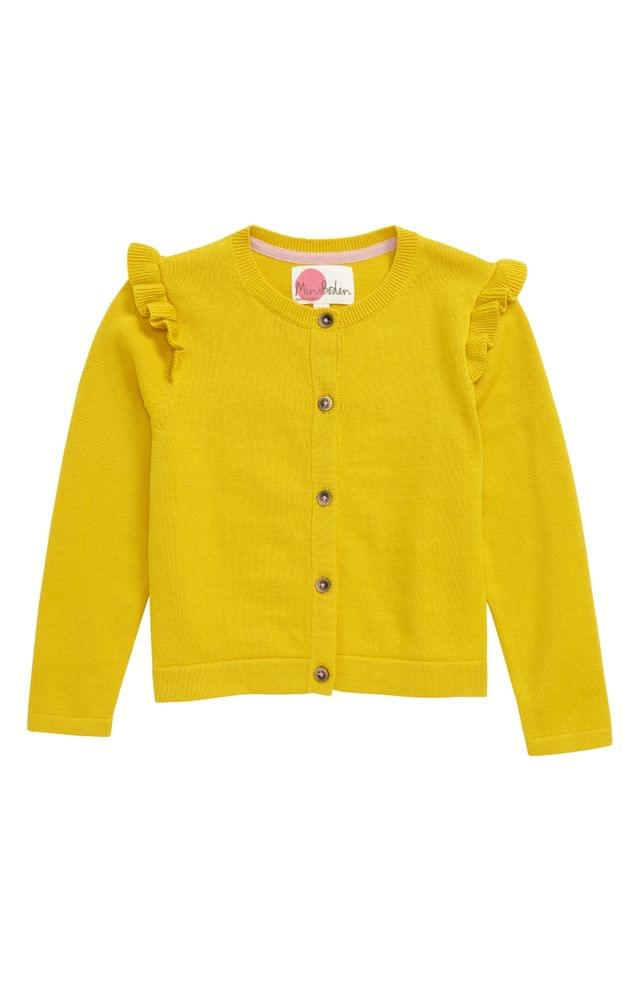 Girls's Mini Boden Everyday Cardigan (Toddler Girl, Little Girl & Big Girl)