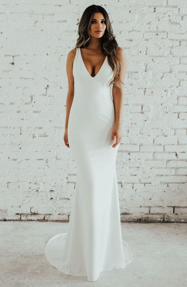 WOMEN Noel and Jean by Katie May Paloma Trumpet Wedding Dress