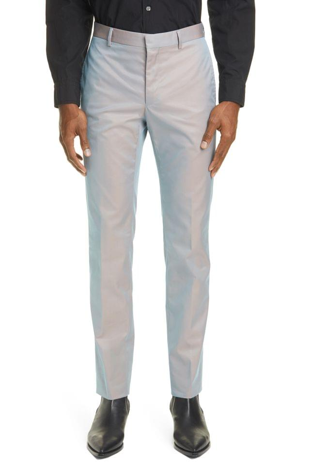 MEN Givenchy Relaxed Skinny Fit Dress Pants