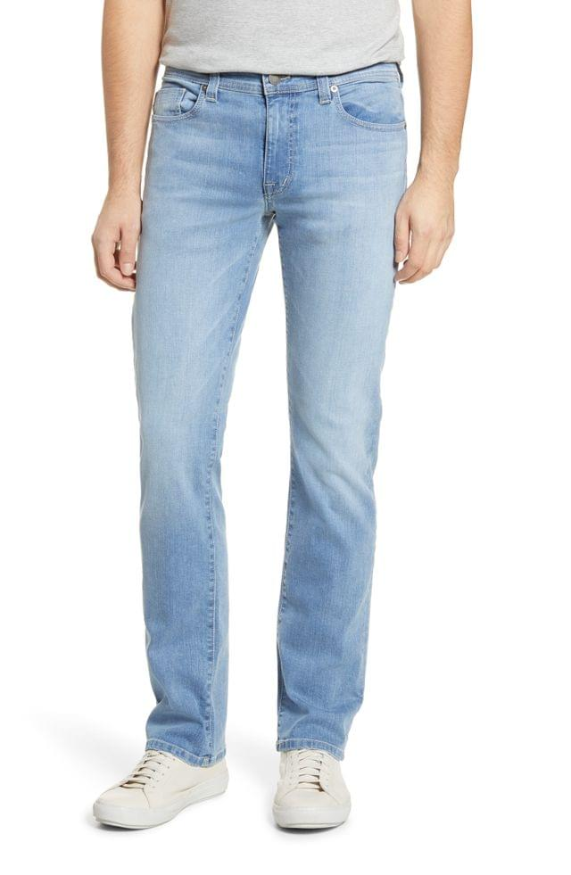 MEN Fidelity Denim Jimmy Slim Straight Leg Jeans (Crash)