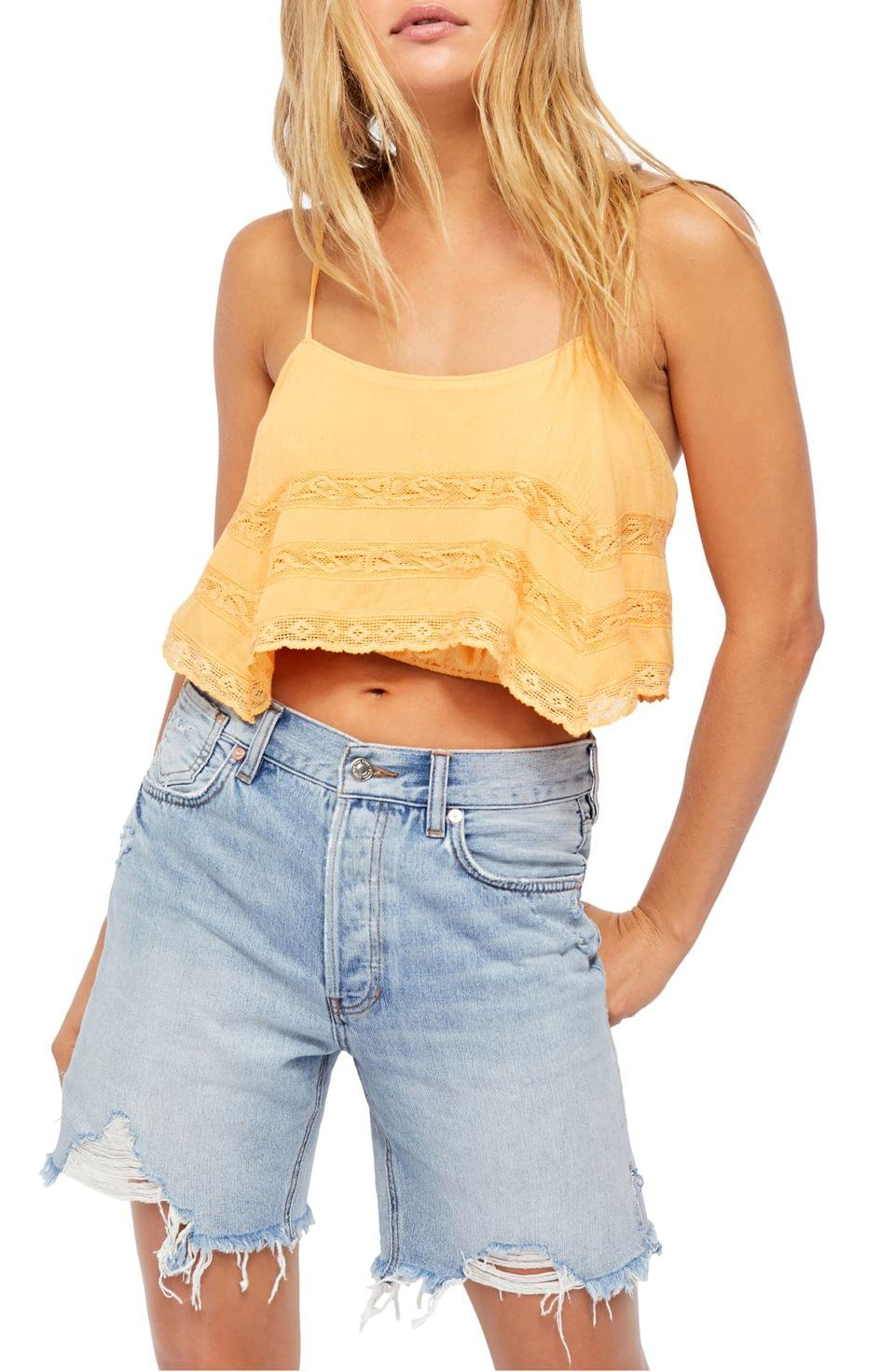 Women's Free People Home Again Crop Camisole