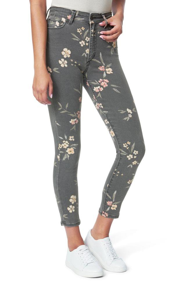 Women's Joe's The Charlie High Waist Ankle Skinny Jeans (Painted Blossoms)