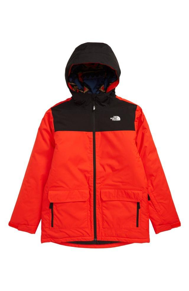KIDS The North Face Freedom Waterproof Insulated Snowsports Jacket (Big Boys)