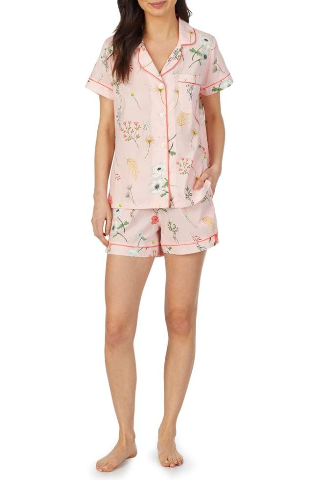 Women's BedHead Pajamas Classic Shorty Organic Cotton Pajamas