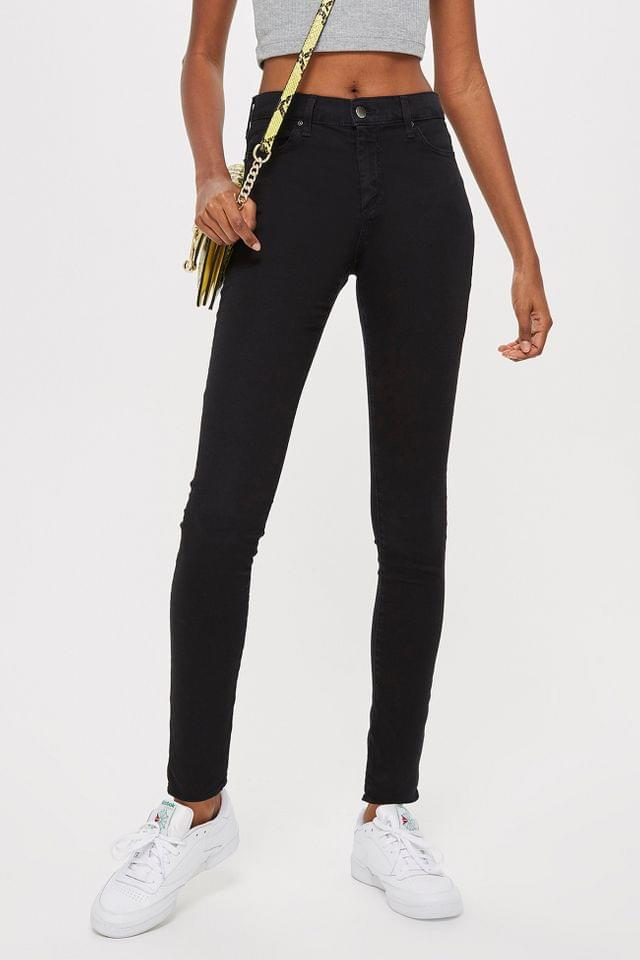 WOMEN PETITE Black Leigh Skinny Jeans