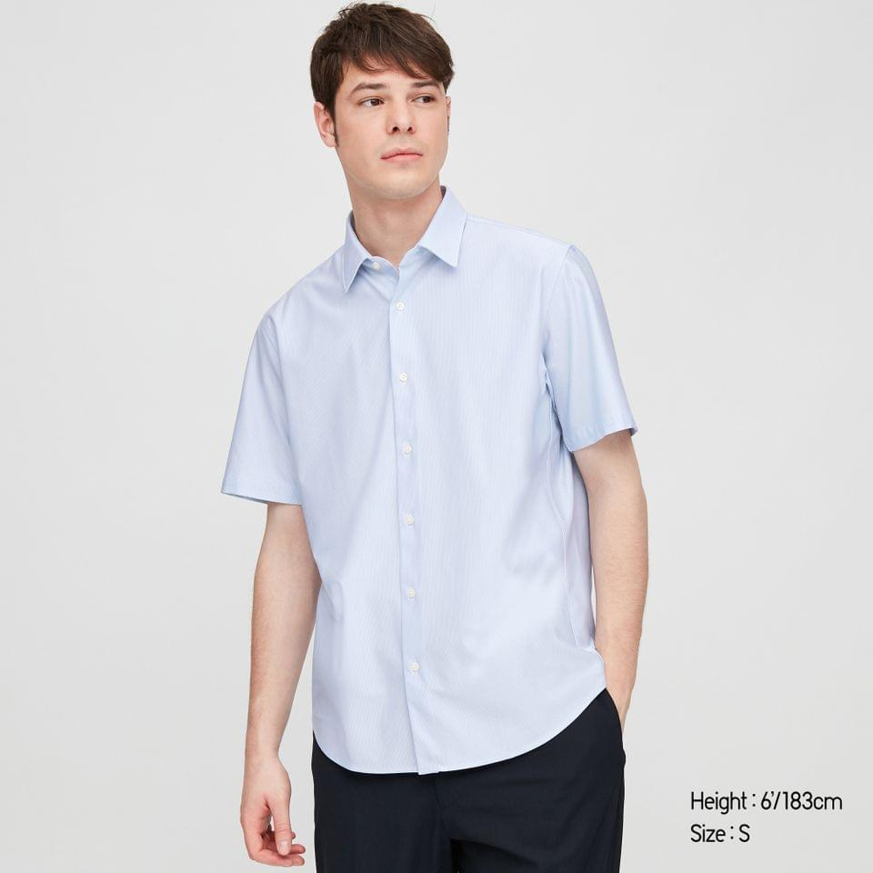 Men's MEN DRY EASY CARE COMFORT SHORT-SLEEVE SHIRT
