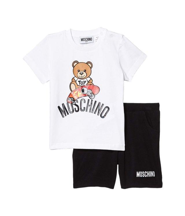 KIDS Toy T-Shirt and Shorts Set (Infant/Toddler). By Moschino Kids. 171.60. Style White/Black.