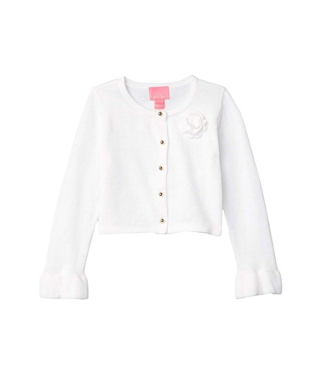 Girl's Lyanna Cardigan (Toddler/Little Kids/Big Kids). By Lilly Pulitzer Kids. 58.00. Style Resort White.