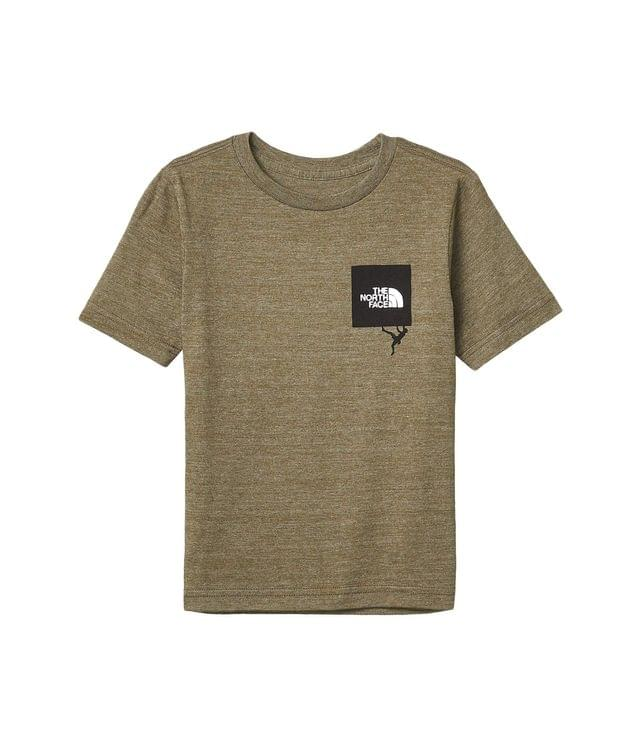 KIDS Tri-Blend Tee (Little Kids/Big Kids). By The North Face Kids. 16.45. Style New Taupe Green Heather.
