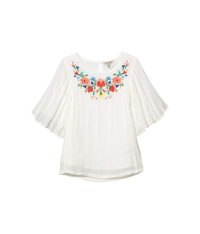 Girl's Phyllie Embroidered Top (Big Kids). By Lucky Brand Kids. 29.50. Style Snow White.