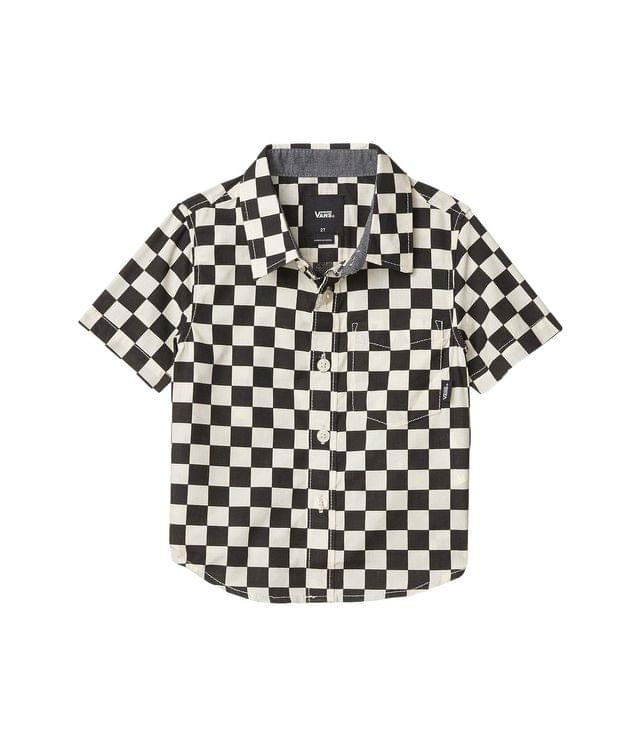KIDS Cypress Checker Short Sleeve Woven (Toddler). By Vans Kids. 44.50. Style Black/Whitecaps.