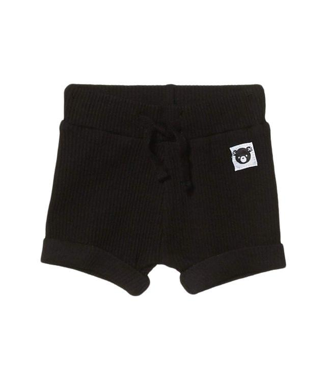 KIDSS Rib Shorts (Infant/Toddler). By HUXBABY. 34.95. Style Black.