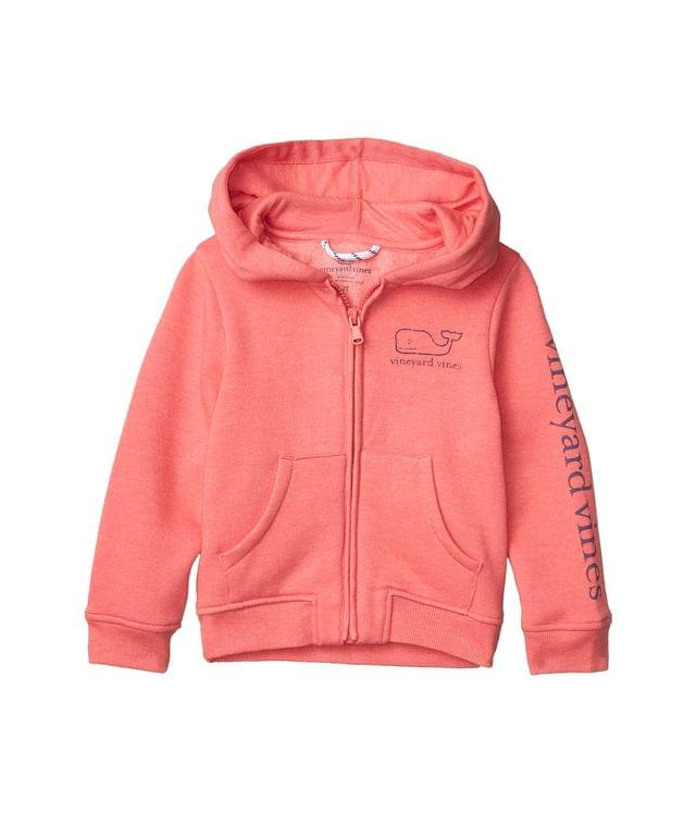 KIDSS Full Zip Graphic Hoodie (Toddler/Little Kids/Big Kids). By Vineyard Vines Kids. 60.00. Style Jetty Red Heather.