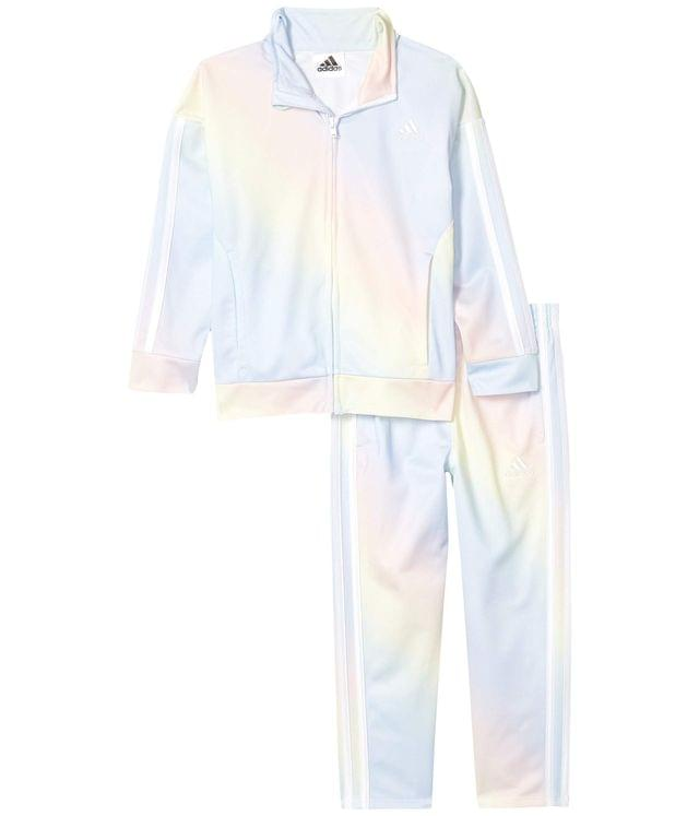 Girl's Printed Tricot Jacket & Pants Set (Toddler/Little Kids). By adidas Kids. 54.00. Style Light Blue.