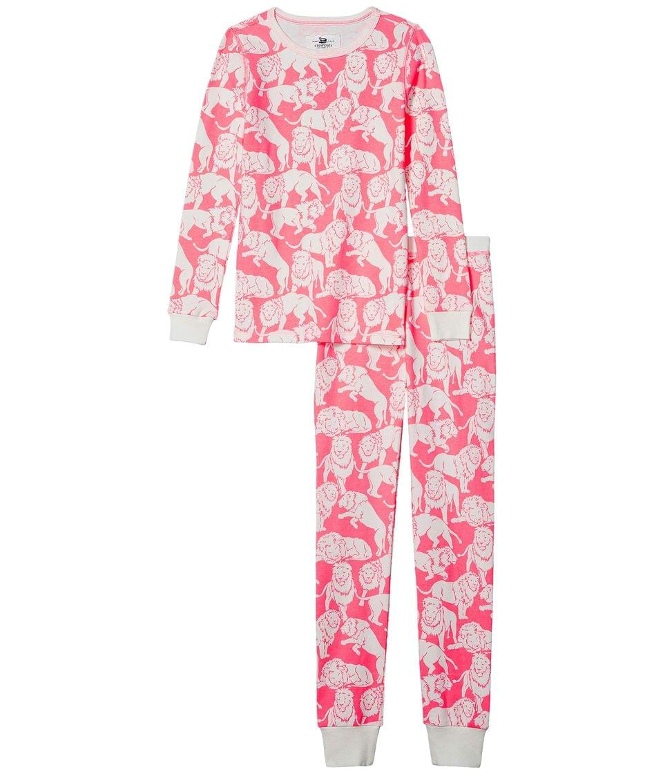 Girl's Long Sleeve Tiger Sleep Set (Toddler/Little Kids/Big Kids). By crewcuts by J.Crew. 49.50. Style Neon Pink/Ivory.