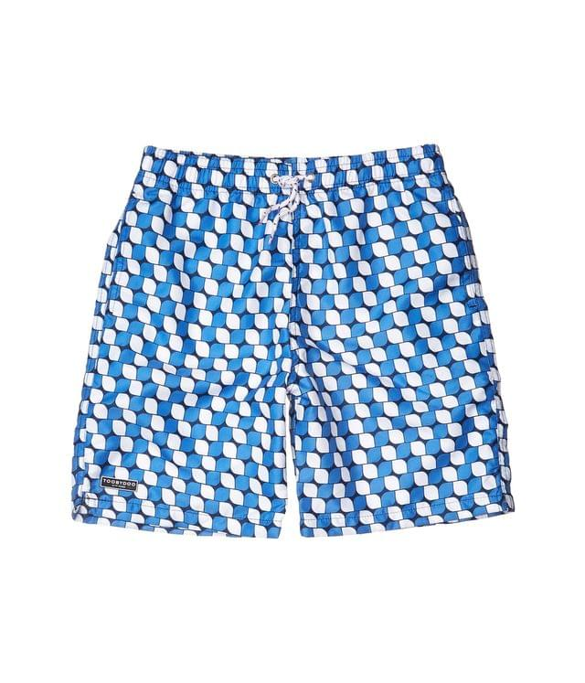 KIDSS Geo Classic Swim Shorts (Toddler/Little Kids/Big Kids). By Toobydoo. 40.00. Style Blue.