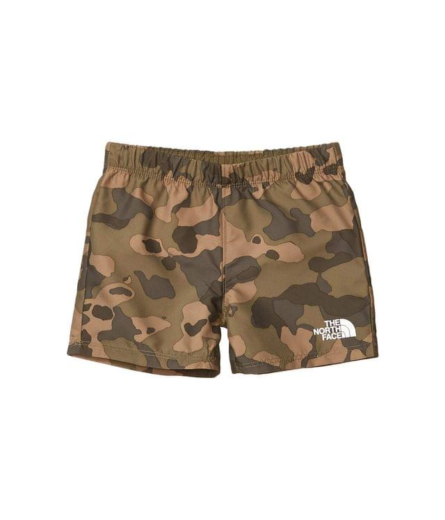 KIDS Class V Water Shorts (Toddler). By The North Face Kids. 18.70. Style Burnt Olive Green Ponderosa Print.