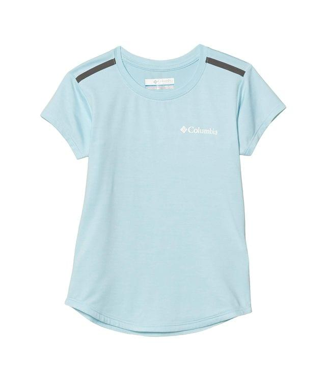 KIDS Tech Trek Short Sleeve Tee (Little Kids/Big Kids). By Columbia Kids. 30.00. Style Spring Blue Heather/Spring Blue.