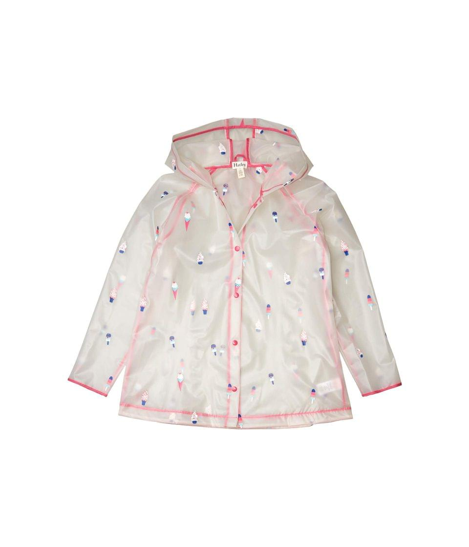 Girl's Cool Treats Clear Swing Raincoat (Toddler/Little Kids/Big Kids). By Hatley Kids. 59.00. Style Natural.