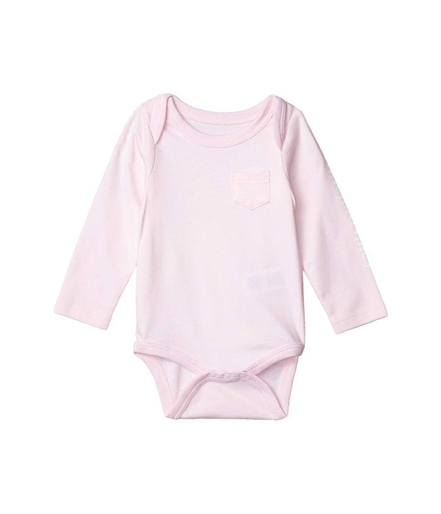 Girl's Long Sleeve Vintage Whale Bodysuit (Infant). By Vineyard Vines Kids. 32.00. Style Conch.