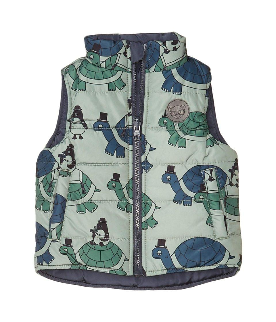 Kids's Tour Reversible Vest (Infant/Toddler). By HUXBABY. 84.95. Style Ink/Turtle.