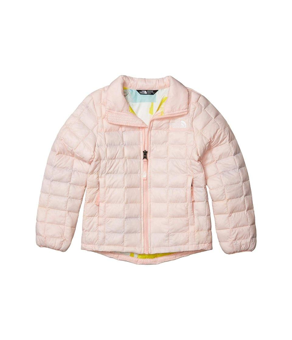 Girl's ThermoBall Eco Jacket (Little Kid/Big Kid). By The North Face Kids. 89.95. Style Impatiens Pink. Rated 5 out of 5 stars.