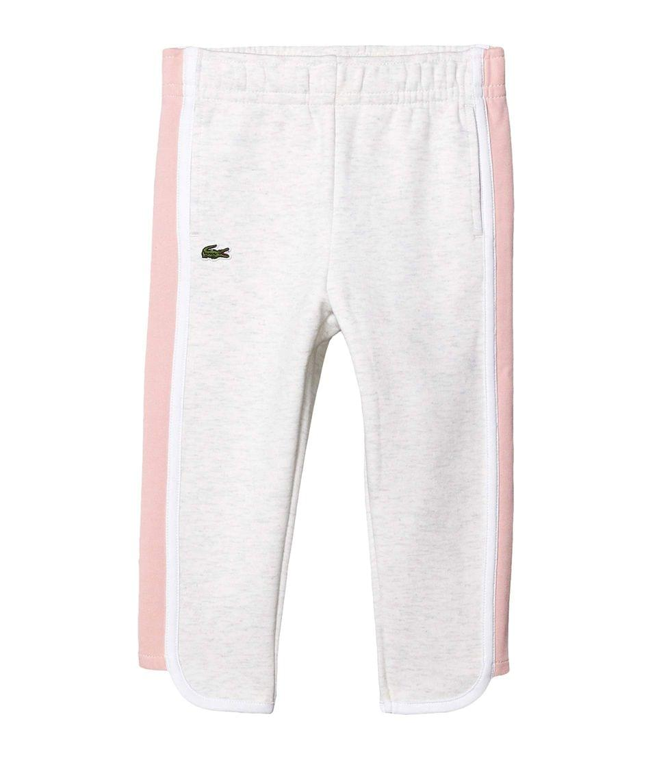 Girl's Fleece Athleisure Track Pants (Toddler/Little Kids/Big Kids). By Lacoste Kids. 70.00. Style Alpes Grey Chine/Lychee/White.