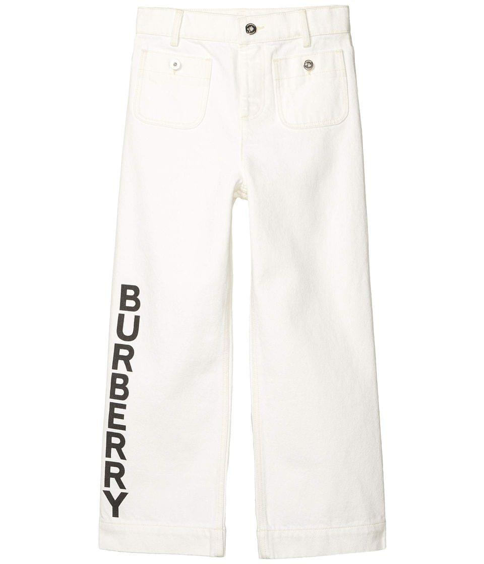 Girl's Nicey Trousers (Little Kids/Big Kids). By Burberry Kids. 240.00. Style Natural White.