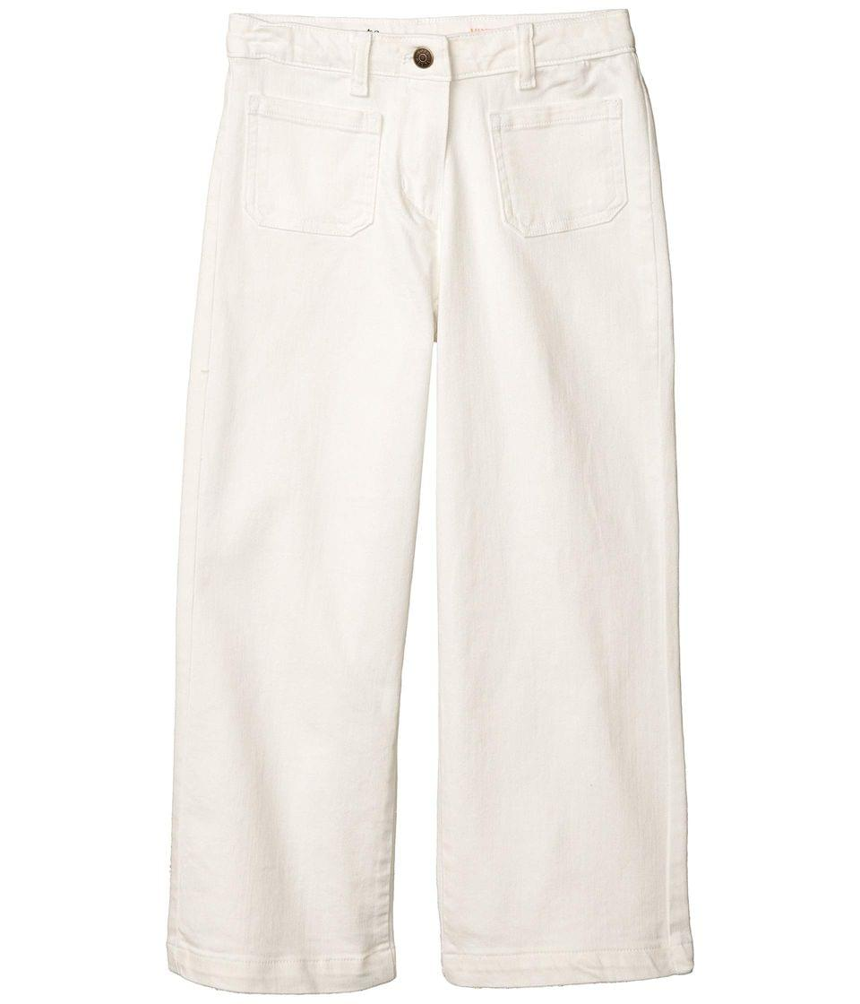 Girl's Cropped Wide-Leg Jeans (Little Kids/Big Kids). By crewcuts by J.Crew. 55.00. Style White.