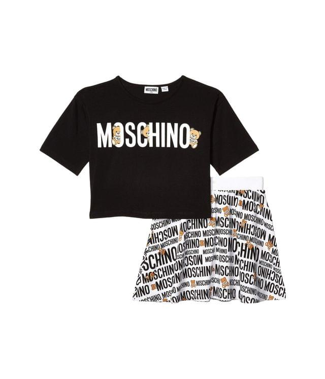 Girl's T-Shirt and Skirt Set (Big Kids). By Moschino Kids. 220.00. Style White.